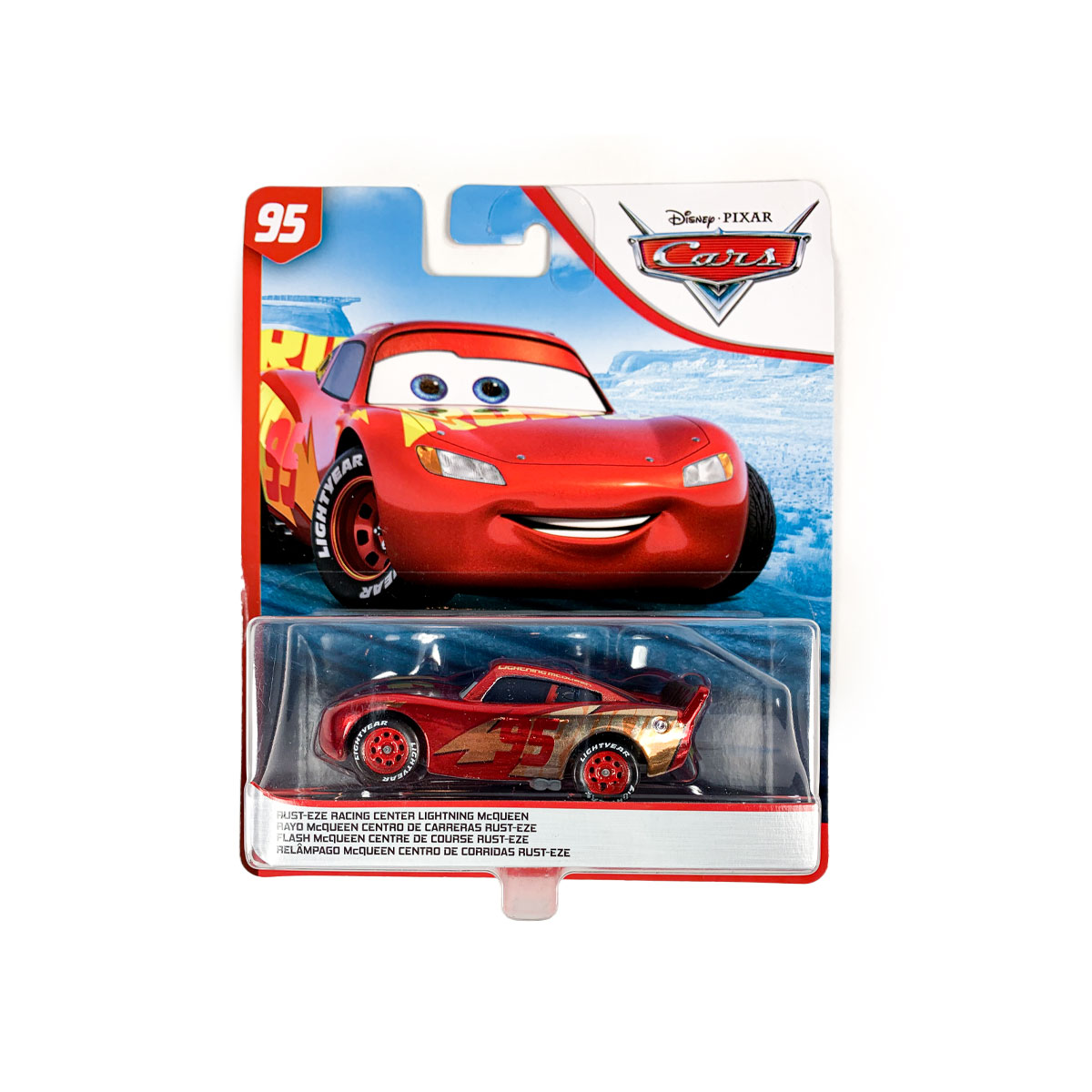 Disney Cars 3 Racing Center Lightning Mcqueen Die Cast Vehicle