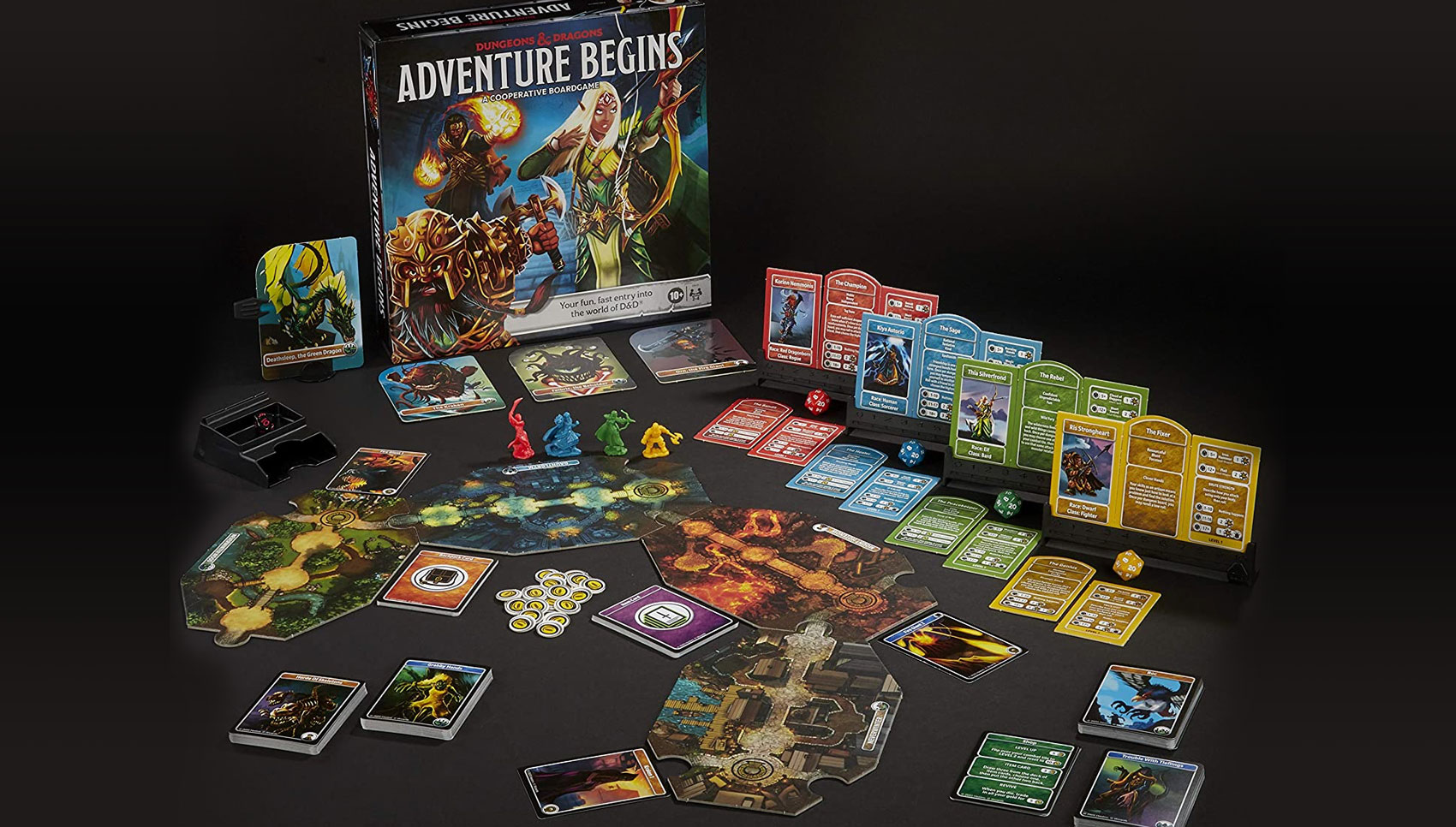 Dungeons & Dragons Adventure Begins Game Contents