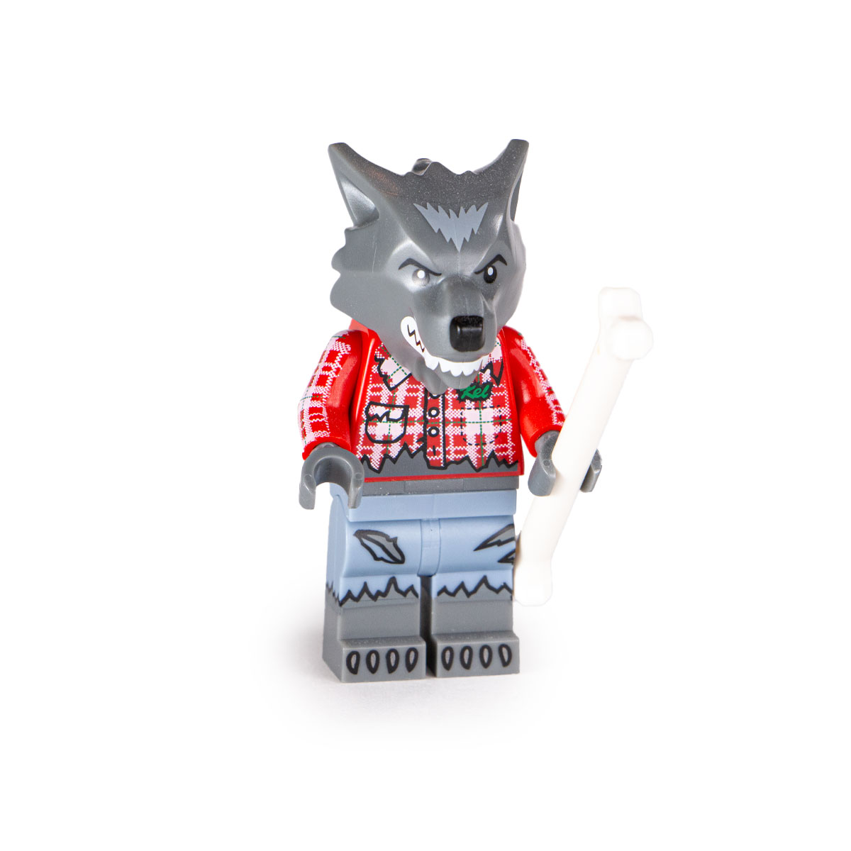 Lego Wolf Guy Collectible Minifigures 71010 Series 14