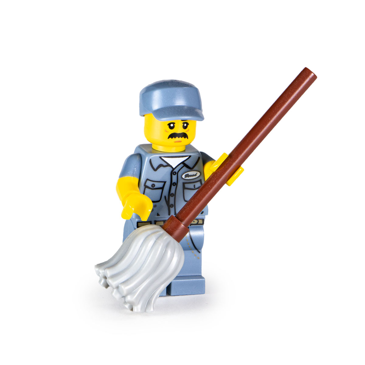 Lego Janitor Collectible Minifigures 71011 Series 15