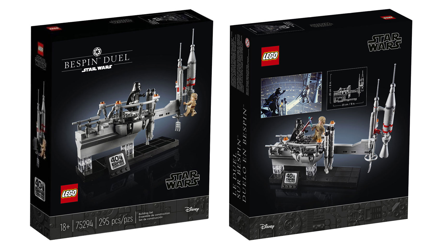 Lego Star Wars Bespin Duel 75294 Packaging